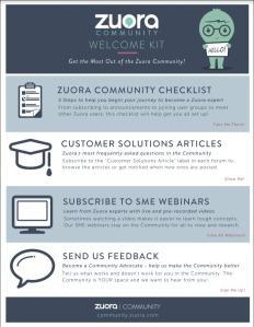 Zuora Community Welcome Kit