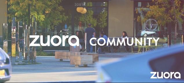 Zuora Community Video